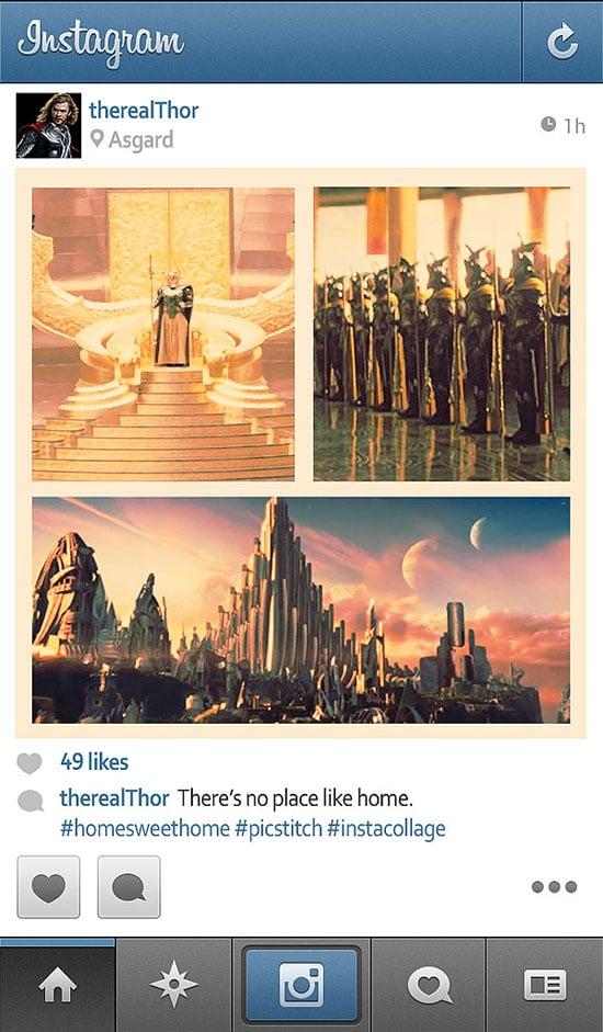 if-superheroes-thor-has-instagram