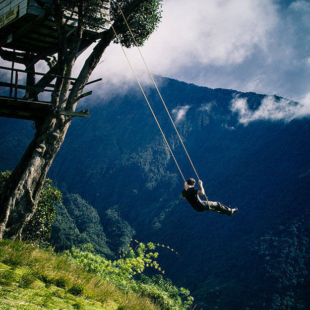 Riding A Swing Over A Cliff In Ecuador Is Bucket List Worthy [10 Pics]
