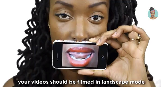 Parody Reminds Us To Turn Our Phones And Take Video In Landscape Mode