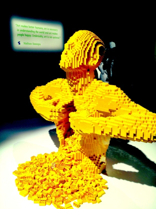 The Art Of The Brick: Nathan Sawaya Dazzles Us With LEGO Art Magic