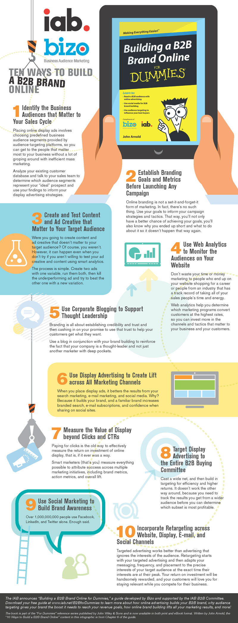 10 Tips For Building A Strong B2B Brand Online [Infographic]