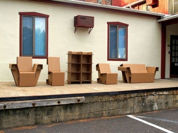 Cardboard Furniture Is Your Refoldable Lifestyle Gone Recyclable