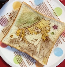 Artistic Breakfast: Japanese Anime Toast Art That Is Too Pretty To Eat
