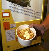 Dream Come True: The Vending Machine That Dispenses Fresh French Fries