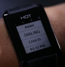 HOT Watch Enables Seamless Palm-Speak Calls