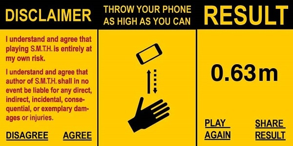 How High Can You Throw Your iPhone? [Banned App]