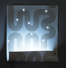 L-INK Poster Becomes A Bright Shining Lamp When Folded