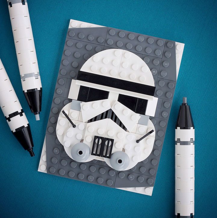 10 LEGO People: Creative And Colorful Pop Culture LEGO Mini Portraits