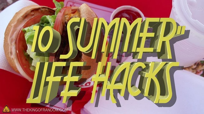 10 Summer Life Hacks That Will Make This Month More Fun [Video]