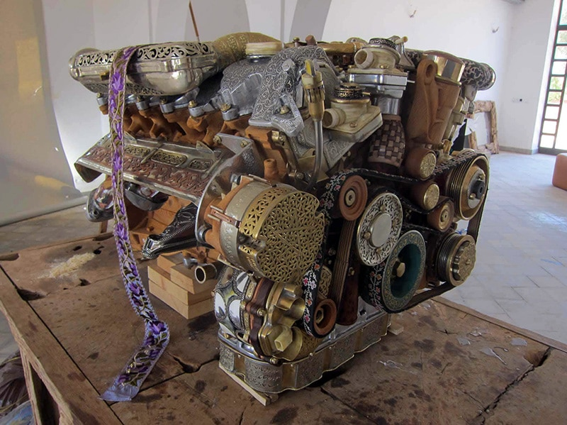 The Mercedes Engine That Was Completely Rebuilt From Odd Materials