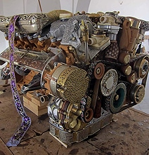mercedes-engine-creative-design