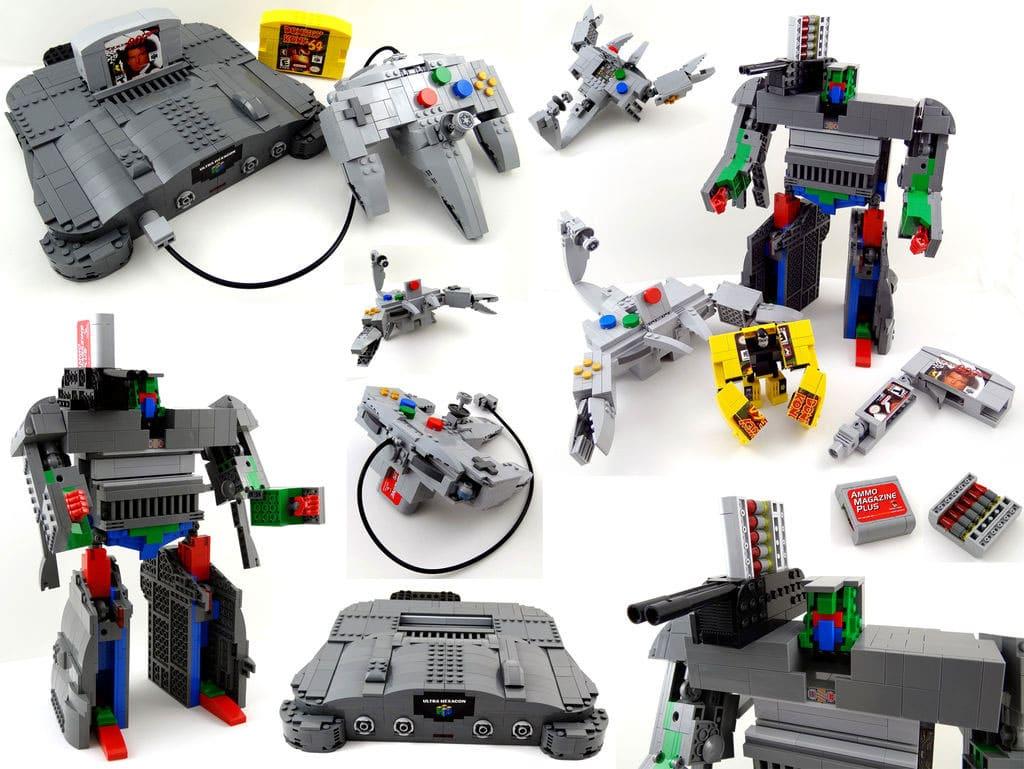 Transforming LEGO Nintendo 64 & Controller Is A Retro Geek's Dream