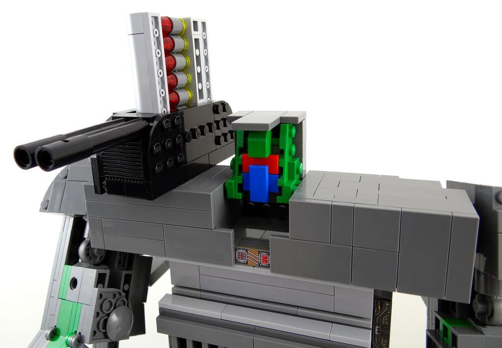 how to build lego gameboy transformer