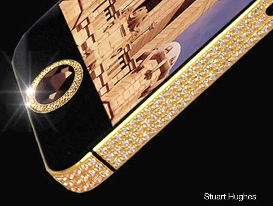 The Most Expensive iPhone 5 In The World Is Dripping In Diamonds