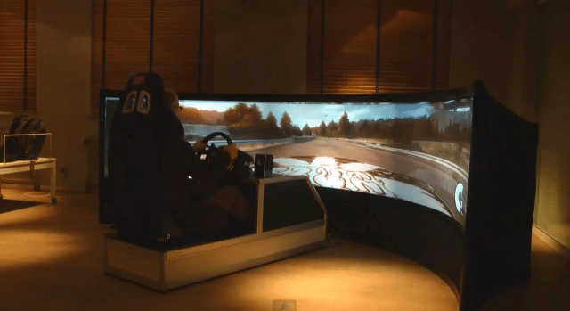 World's Largest Curved Gaming Screen Spans 160 Degrees