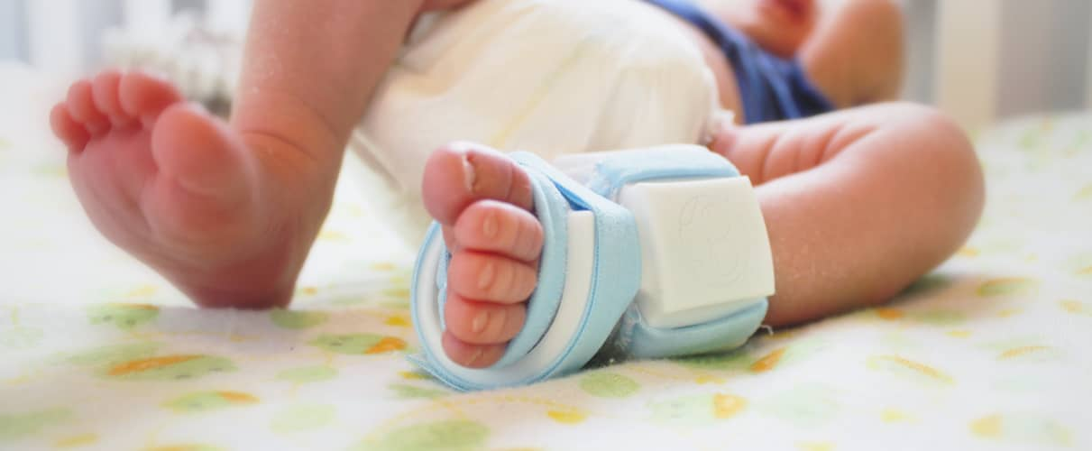 Owlet Baby Bootie Monitors Your Baby S Vitals On Your