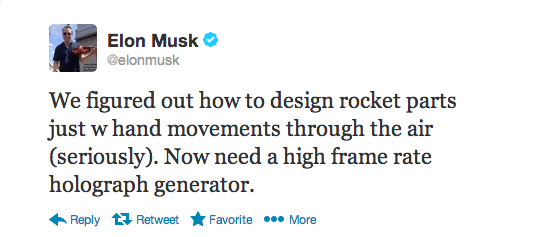 Elon Musk Demoes His Tony Stark Holographic Interface