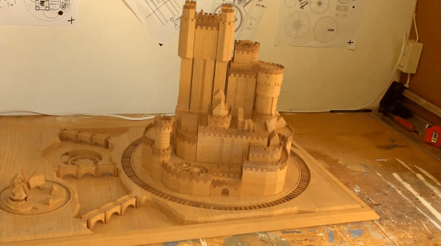 Extendable Game of Thrones Castle