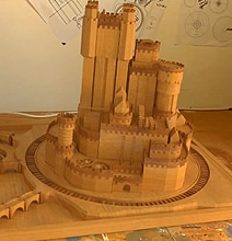Guy Creates Real Extendable Game Of Thrones Castle