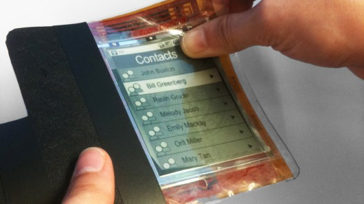 Researchers Unveil Flexible Smartphone Bend Gesture Interface