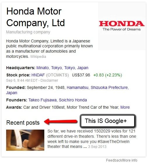 How Your G+ Business Page Makes A Big Difference In Search Results