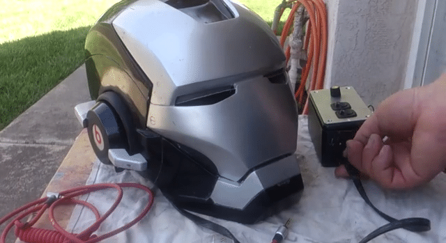 Iron Man Helmet Equipped With Epic Working Beats By Dr Dre