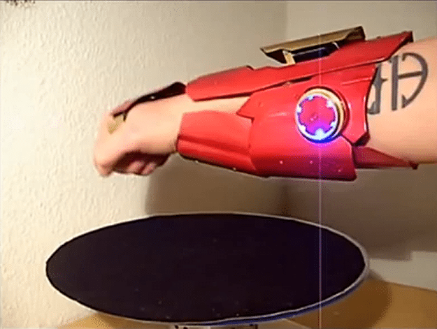 Iron Man Laser Glove
