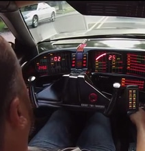 Knight Rider Fan Builds Perfect Replica Of The KITT Car