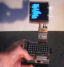 Guy Creates Sick Raspberry Pi Palm Top Computer
