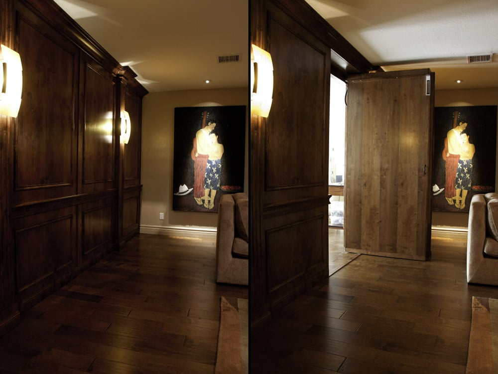 Now You Can Have A Hollywood Movie Style Secret Passageway