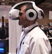 Smart Goggles From Sensics Is A Gaming Computer In A Helmet