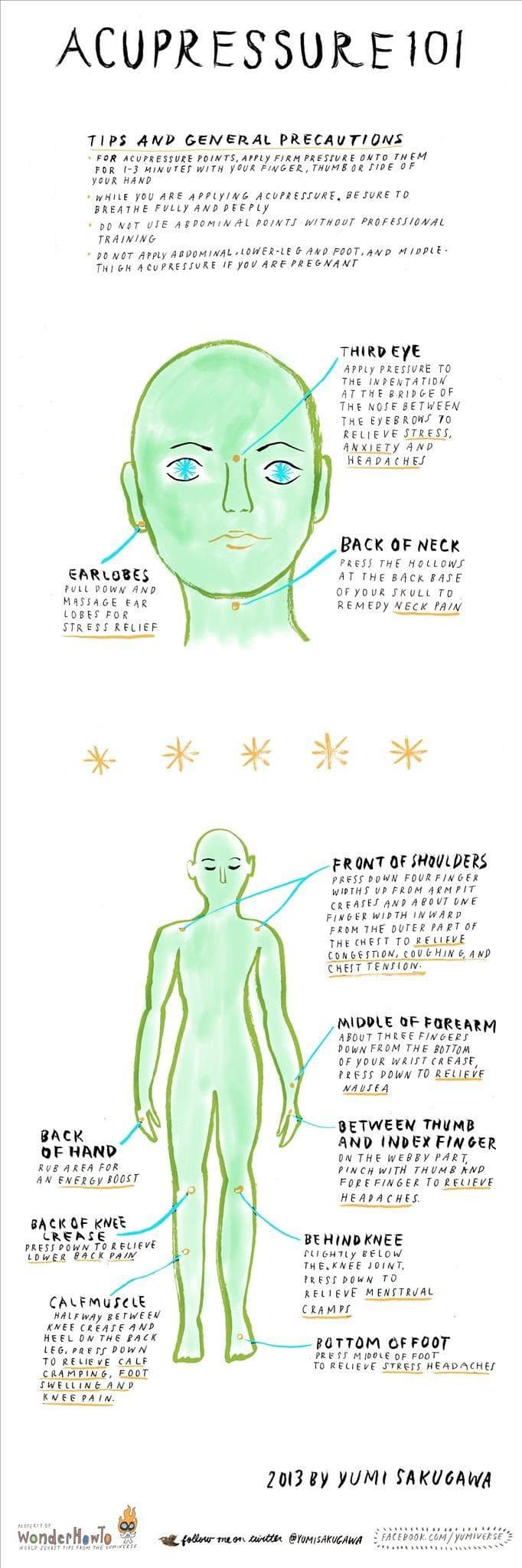 Acupressure 101: You Can Relieve Your Stress Without Leaving Your Desk