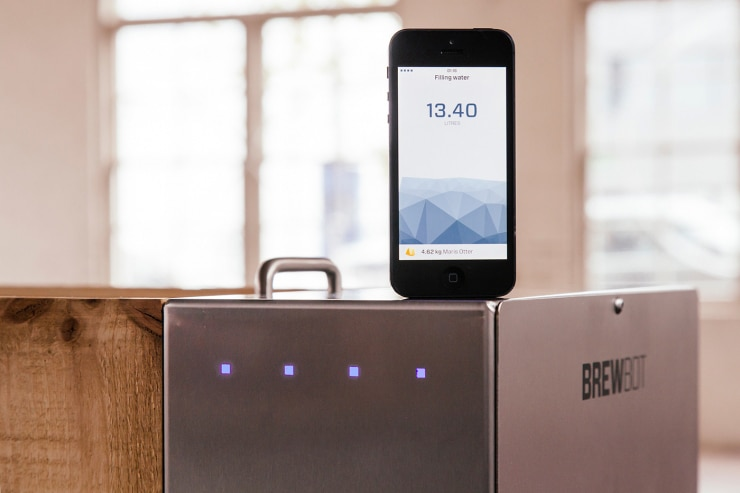 Brewbot Makes Brewing Beer At Home With Your Smartphone Easy