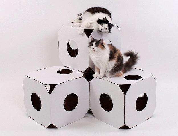 cardboard-furniture-cat-condos