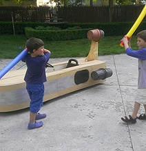 DIY Star Wars Landspeeder…For When You Want To Scoot Around In Style