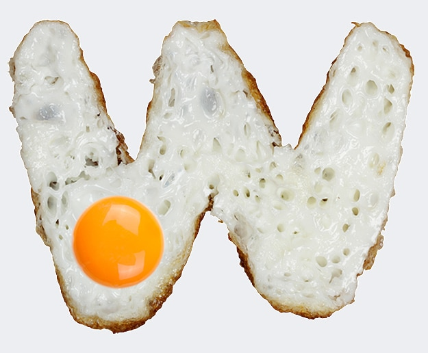 fried-eggs-handmade-font