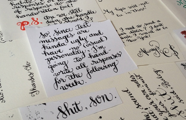 handwritten-calligraphy-text-messages