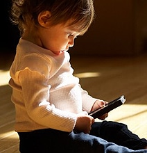 Kids And Technology: Are Smartphones The New Pacifiers? [Infographic]