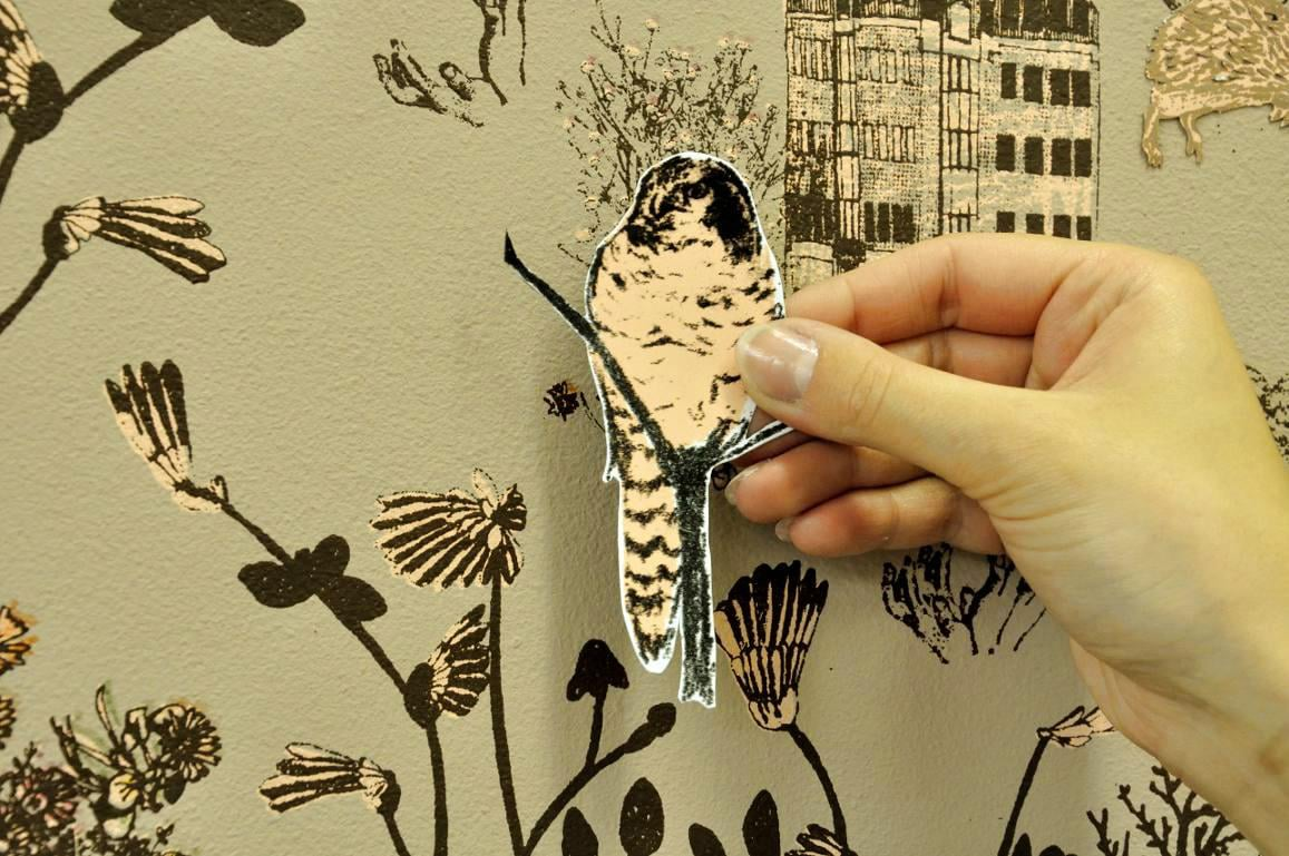 Magnetic Wallpaper Turns Ordinary Walls Into A Spontaneous Adventure