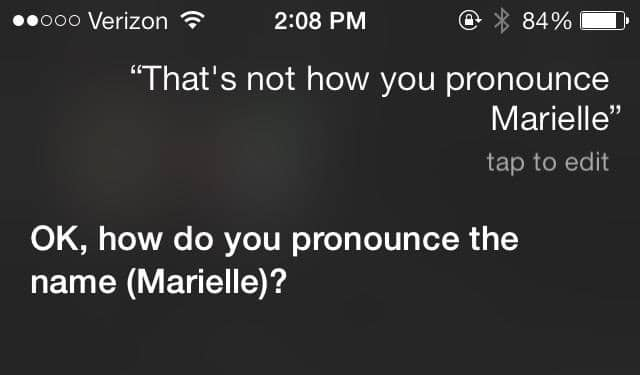 How To Make Siri Correctly Pronounce Names In Your Contacts In iOS 7