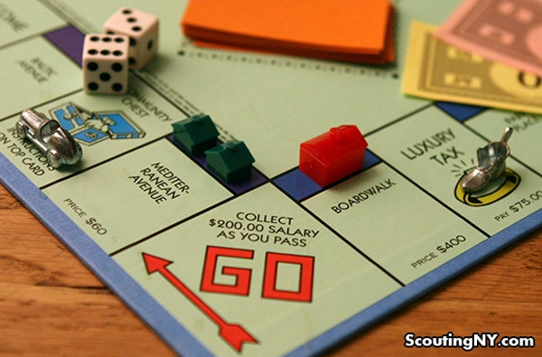 Monopoly Game Properties IRL: A Photo Collection For Board Game Lovers