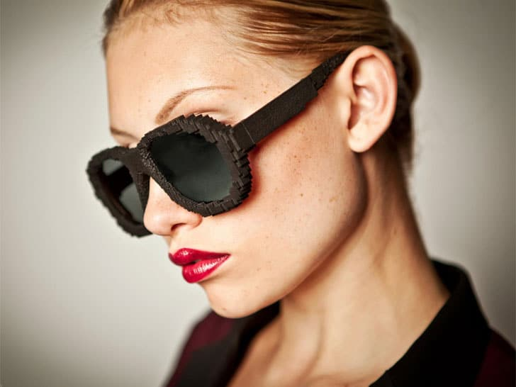 3D Printed Custom Sunglasses Specifically Created To Fit Your Face