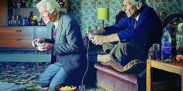 New Study: Playing Video Games Helps Brain Function In Elderly People