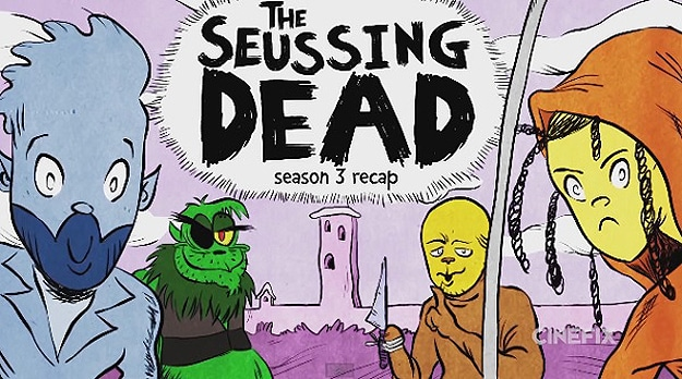 The Walking Dead Season 3 Recap If Told By Dr. Seuss
