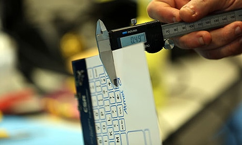 Innovative 'World's Thinnest Keyboard' Is Thinner Than You Think