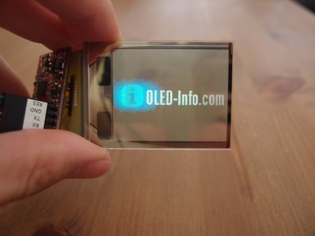 4D Systems Transparent Display