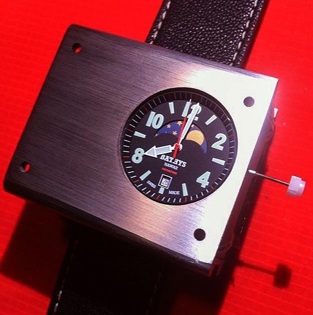 Cesium 133 Atomic Wristwatch
