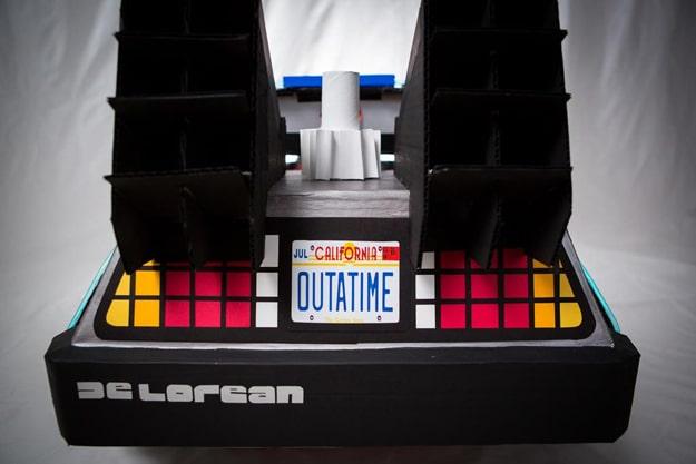 DeLorean Push Car Build