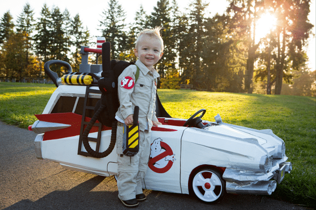 Cooper Is Back With A New Ecto-1 Ghostbusters Push Car