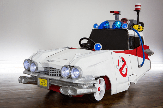 Ecto-1 Ghostbusters Push Car